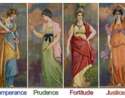 Masonic Virtues, Represented by Women